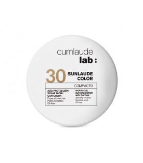 CUMLAUDE LAB: SUNLAUDE COVER COMPACTO 30 UVA 10GR