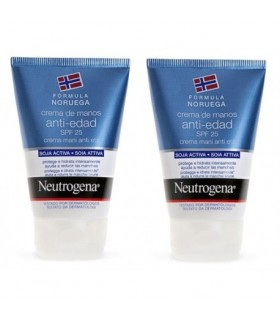 NEUTROGENA CREMA DE MANOS ANTI-EDAD  2X50 ML