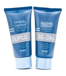 LAMBDA CREMA DESODORANTE DUPLO 2X50 ML.