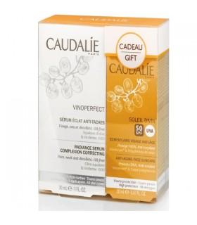 CAUDALIE VINOPERFECT PACK SERUM VINOPERFECT 30ML + SOLEIL DIVIN SPF50+ 20ML