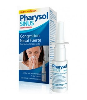 PHARYSOL SINUS ACCION RAPIDA NEBULIZADOR  15 ML