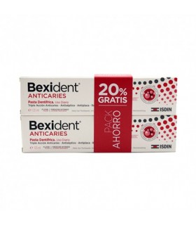 BEXIDENT PASTA DENTÍFRICA ANTICARIES PACK 2X125ML