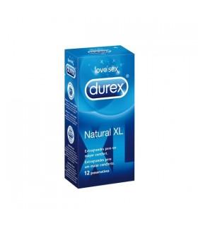 PRESERVATIVOS DUREX NATURAL XL 12  UDS