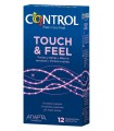 PRESERVATIVOS CONTROL TOUCH&FEEL 12 UDS
