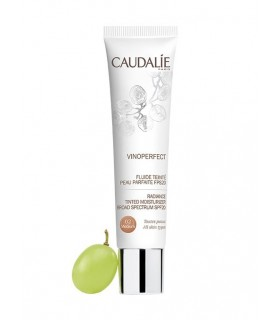 CAUDALIE VINOPERFECT FLUIDO COLOR 02 MEDIUM SPF20 40ML