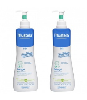 MUSTELA BABYGEL PACK 750ML