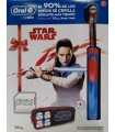 CEPILLO DENTAL ELÉCTRICO INFANTIL ORAL-B STAGES STAR WARS + ESTUCHE DE REGALO