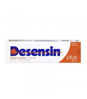 DESENSIN PASTA DENTAL PLUS FLÚOR DIENTES SENSIBLES 125 ML + 25ML