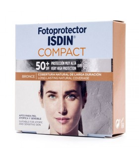 ISDIN FOTOPROTECTOR COMPACTO BRONZE SPF50+ 10GR
