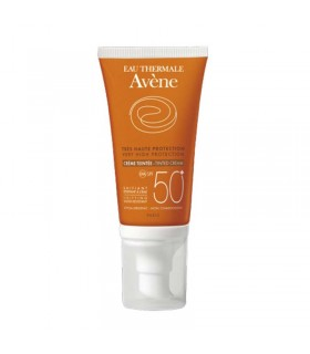 AVENE  SOLAR SPF50+ CREMA COLOREADA 50ML