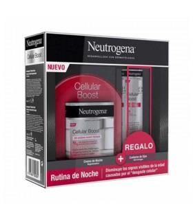 NEUTROGENA CELLULAR BOOST PACK CREMA NOCHE + CONTORNO
