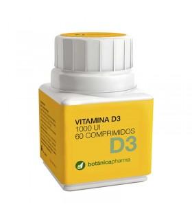 VITAMINA D3 BOTANICAPHARMA  60 COMPRIMIDOS