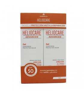 HELIOCARE ADVANCED DUPLO GEL SPF 50 2X200 ML