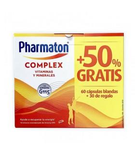 PHARMATON COMPLEX CAPS  60 + 30 CAPSULAS GRATIS