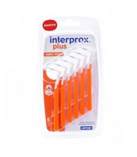CEPILLO DENTAL INTERPROX SUPER MICRO 6 UDS