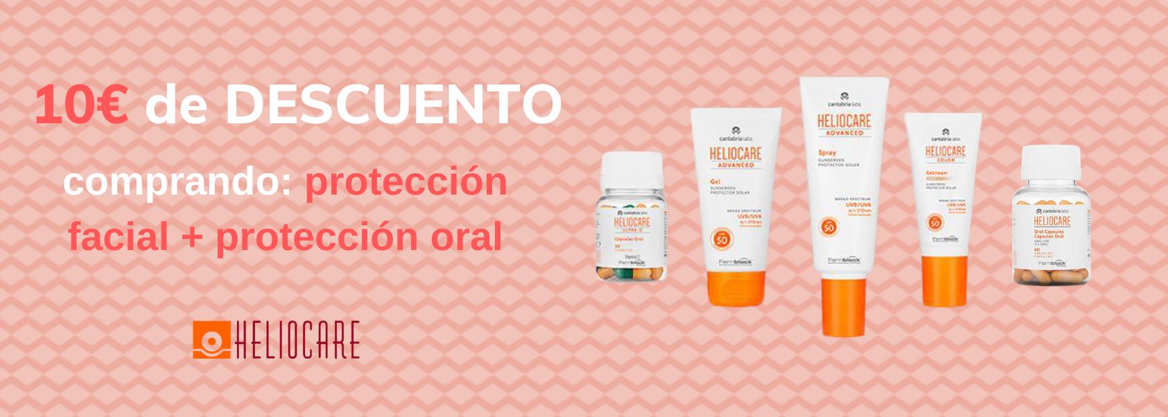 Heliocare proteccion solar facial + protección oral